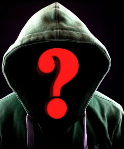 Question Mark Attack Internet Mask Hacker